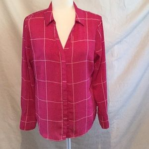 Like New Worthington Long Sleeve Blouse